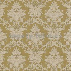 Tapety na zeď Crispy - zámecký vzor - zlatohnědý - SLEVA -