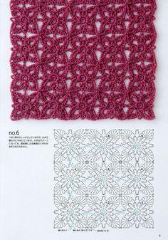 """Альбом """"Continuous Crochet Motifs"""" 2016г. Обсуждение на LiveInternet - Российский Сервис Онлайн-Дневников"""