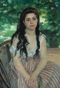 Pierre-Auguste Renoir, In Summer, 1868