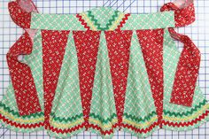 apron from vintage pattern