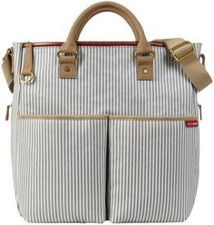 Diaper bag I ordered today :) hope I like it! Skip Hop Duo Limited Edition - French Stripe