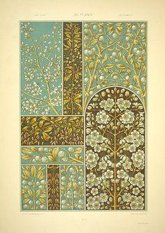 Anton Seder (1850-1916), Die Pflanze in Kunst und Gewerbe, 1887, sloe designs