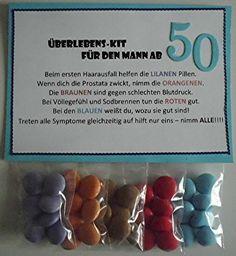 Meine Überlebens-Kits habe ich hier ja schon in verschiedenen Variationen gezeigt.  Jetzt gibt es einen neuen für Männer ab 50!