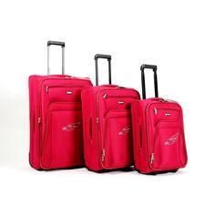 Touareg bőrönd szett piros 3 részes FA-1046 - AKCIÓS BŐRÖND - Etáska - minőségi táska webáruház hatalmas választékkal Fashion, Moda, Fashion Styles, Fashion Illustrations