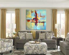 Original Large Art Large Decor Art Painting Canvas Art | Etsy