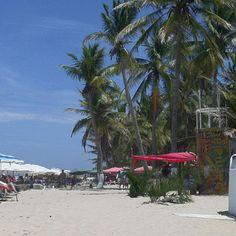 Parguito beach . Nueva esparta venezuela