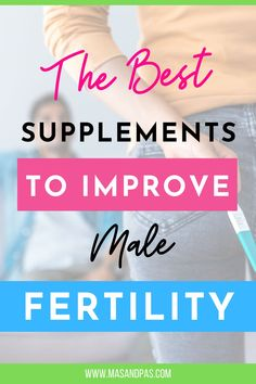 Taking certain dietary supplements can help improve male fertility, according to a recent study. The supplements were found to help improve sperm count and quality. Check out the best supplements to improve male fertility here. #malefertility #infertility #supplements] Pregnancy Stages, Pregnancy Tips, Parents Be Like, Getting Ready For Baby, Potty Training Tips, Trying To Conceive, Best Supplements, Kids Behavior, Kids Learning Activities