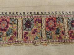 Benaki Museum, Embroidery Patterns Free, Fiber Art, Needlework, Ottoman, Bohemian Rug, Cross Stitch, Textiles, Traditional