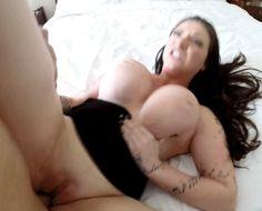 beautiful busty brunette - Porn Gifs
