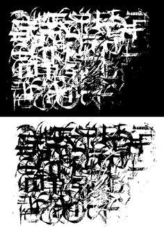 Calligraphy invert