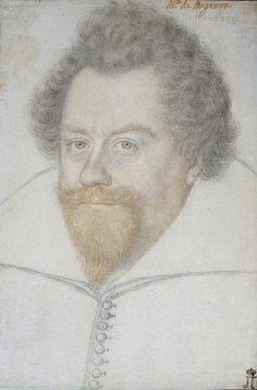 Author: Foulon, Benjamin, circa 1550-circa 1612  School: French  Title:  Portrait of the Duke of Montbazon  Place: France  Date: 16th century  Technique:  black and red chalk on brownish paper  Dimensions:  34,7х23,2 cm ...