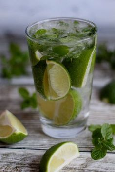 Mojito - najlepsze z Smoothie Detox, Mojito, Cantaloupe, Lime, Food And Drink, Weight Loss, Fruit, Thermomix, Lima