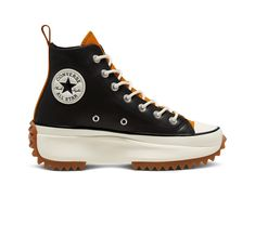 Mode Converse, Converse All Star, Converse Sneakers, New Sneakers, Chuck Taylor Sneakers, Leather Trainers, Leather Sneakers, Custom Boots, Leather Fashion