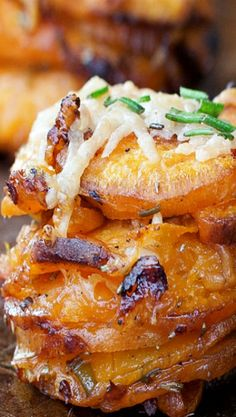 Rosemary Sweet Potato Stackers