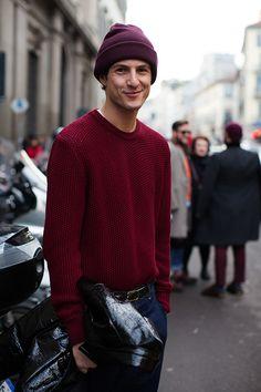 On the Street…..Via Venezia, Milan. men