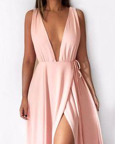 Moda 2019 fiesta informal ideas for 2019 Best Prom Dresses, Grad Dresses, Ball Dresses, Ball Gowns, High Fashion Dresses, Casual Dresses, Fashion Outfits, Formal Dresses, Fashion Night