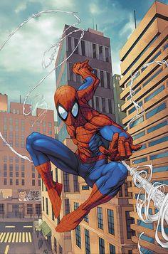 "#Spiderman #Fan #Art. (Marvel Age: Spider-Man #18 ""Spidey Strikes Back!"" Cover) By: Roger Cruz. (THE * 5 * STÅR * ÅWARD * OF: * AW YEAH, IT'S MAJOR ÅWESOMENESS!!!™)[THANK Ü 4 PINNING!!!<·><]<©>ÅÅÅ+(OB4E)"