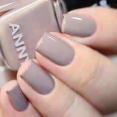 """Re-think your neutrals this fall - our current fave, with its light nude tone is """"only you"""" (No. Gold Nail Polish, Gold Nails, Nude Nails, Pink Nails, Light Colored Nails, Light Nails, Neutral Nail Color, Fall Nail Colors, Winter Nails 2019"""