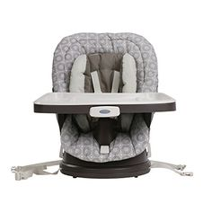 The Smartly Designed Graco Swivi Seat Booster Grows With Your Child, From  Infant Feedings Up To Table Toddler Meals, And Swivels To Perfectly  Position Your ...