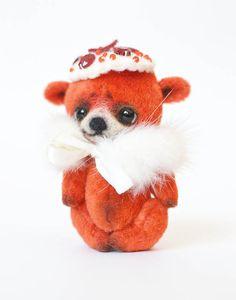 Miniature bear Lady Bear Zoe OOAK