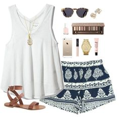 20 Best Summer Outfit Ideas from Polyvore   Pretty Designs