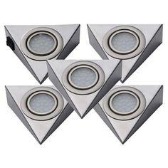 LED-Unterbauleuchte-2er-5er-Set-Kuechenleuchte-Unterbaustrahler-Strahler-Kueche