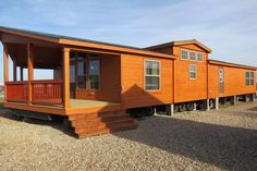 Pine Mountain Cabin 900 Cowboy II by Recreational Resort Cottages and Cabins Log Cabin Mobile Homes, Cabin Homes, Log Homes, Tiny Homes, Dream Homes, Modular Cabins, Modular Homes, Log Cabins, How To Build A Log Cabin