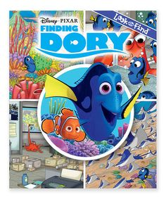 Look what I found on #zulily! Finding Dory Look & Find Hardcover #zulilyfinds