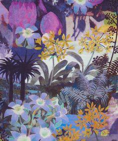 Abbey Pool C Tana Lawn, Liberty Art Fabrics. Shop more from the Liberty Art… Motifs Textiles, Textile Patterns, Textile Prints, Floral Prints, Tropical Prints, Textile Design, Liberty Art Fabrics, Liberty Print, Art Et Illustration