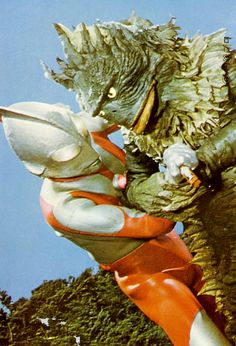 ultraman vs ragon