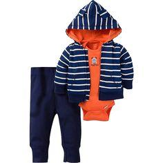 d390fb191ac5 3-Piece Boys Tough Guy Hooded Jacket Set