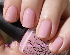 Perfect soft & sheer pink: OPI It's A Girl.