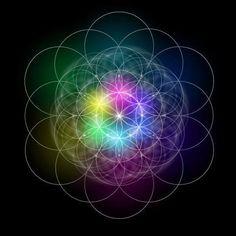 """Este símbolo geométrico é conhecido desde a mais remota antiguidadee chama-se """"A Flor da Vida""""."""
