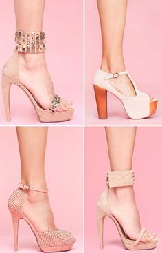 <3 nude shoes