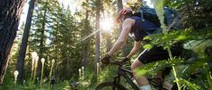 These lesser-known trails take you up and away to nature's own brand of air conditioning Heat and crowds got you dying to escape the grind in search of cooler, higher-elevation rides? Pack up your bikes, hop in the car and head to one of these high-altitude and high-latitude trails. Don't forget to pack a swimsuit …