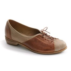 women Oxford shoes flat brown shoes by MYKAshop on Etsy, $155.00