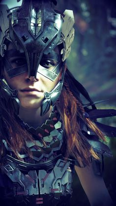 ArtStation - Horizon Zero Dawn - Player Images, Dan Calvert
