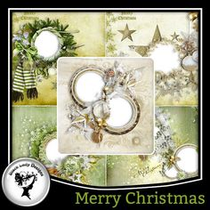 Merry Christmas QP by Black Lady Designs