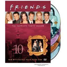 Amazon.com: Friends: The Complete Tenth Season: Jennifer Aniston, David Schwimmer, Lisa Kudrow, Matt LeBlanc, Matthew Perry, Courteney Cox, Kevin S. Bright, Marta Kauffman, David Crane: Movies & TV