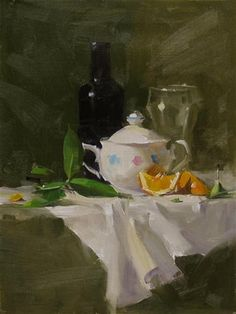 "Daily Paintworks - ""Qiangs Super Sugar Bowl"" - Original Fine Art for Sale - © Qiang Huang"