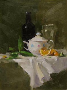 """Qiangs Super Sugar Bowl"" - Original Fine Art for Sale - © Qiang Huang"
