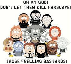 Farscape x South Park