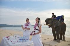 Phuket Beach Elephant Wedding Package : Kathleen + Shaune | Thai Marriage Planner