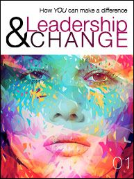 Cover of issue 1! Magazine will launch soon! Yes! General website is http://www.leadershipandchangemagazine.com/