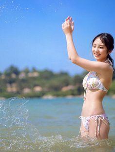 Cute Asian Girls, Cute Girls, Sexy Bikini, Bikini Girls, Japanese Bikini, Gravure Idol, Cute Japanese, Japan Girl, Japan Woman