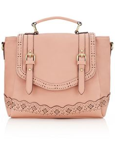 Cutwork Pretty Satchel | Pink | Accessorize