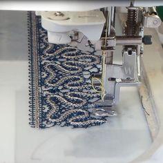Курс: Учимся вышивать кружева Технология вышивки, виды кружев, стыковка и деление!