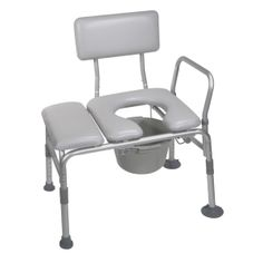 """This plastic transfer bench can be accommodated in any bathroom because of its reversible bench and extension legs with large suction cups to give more safety and versatility. It has blow-molded plastic backrest and bench which is durable and high quality. Its adjustable height increments with unique """"Dual Column"""" extension legs. Its tool free assembly needs connecting legs,"""