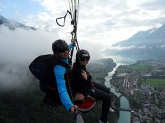 Paragliding in Interlaken How to get Paid to Backpack around Europe