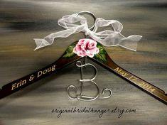 Custom Wedding Dress Hangers Bridal by OriginalBridalHanger